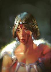Princess Mononoke by roosdy01