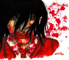 Alucard Now With More Blood by ellensama