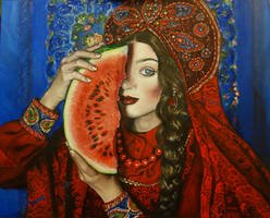 Melon lady