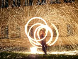 Firestorm Dancer by pesky-dwarf