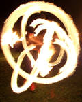 In fire
