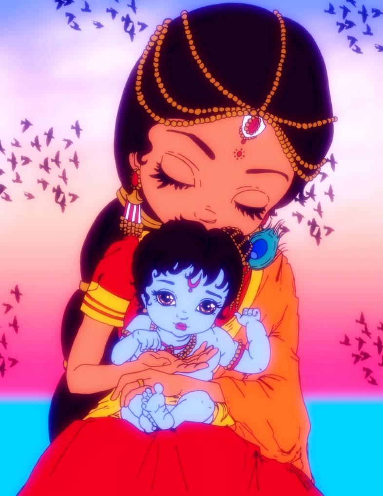 Baby Krishna By Astaroth Demonwolf On Deviantart