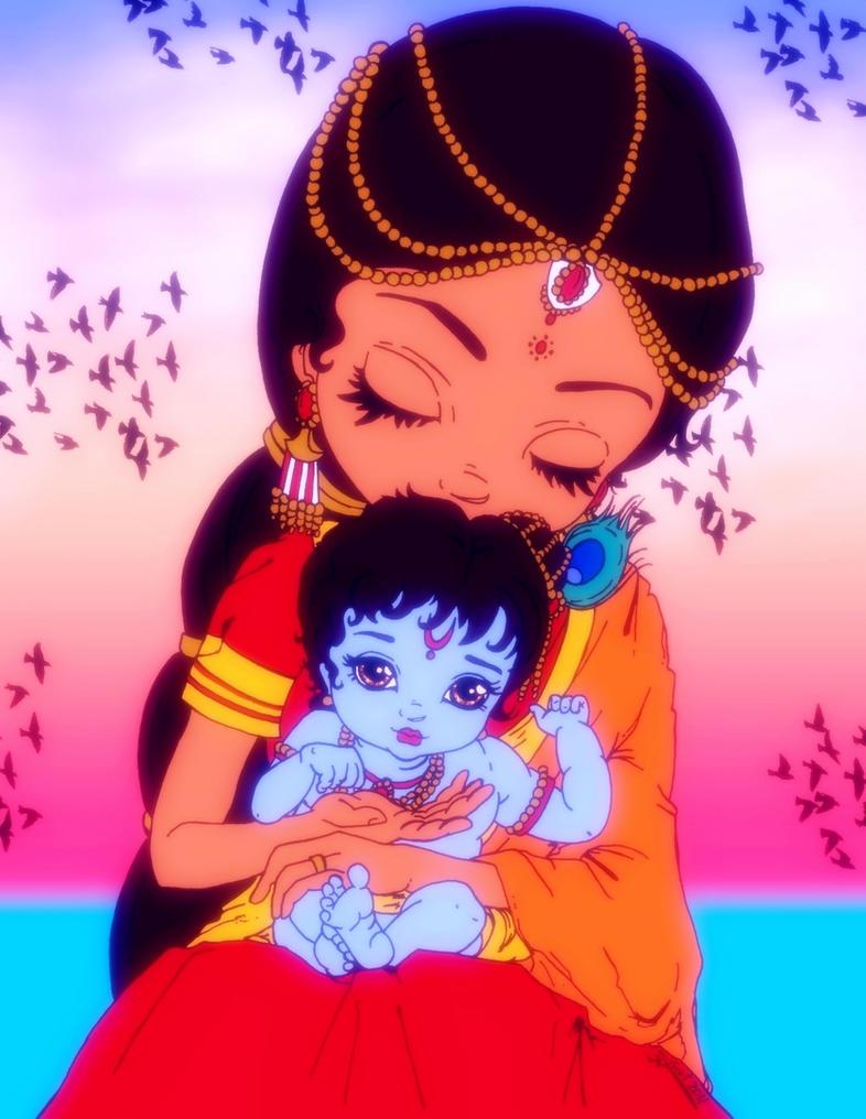 Baby Krishna by Astaroth-Demonwolf on DeviantArt