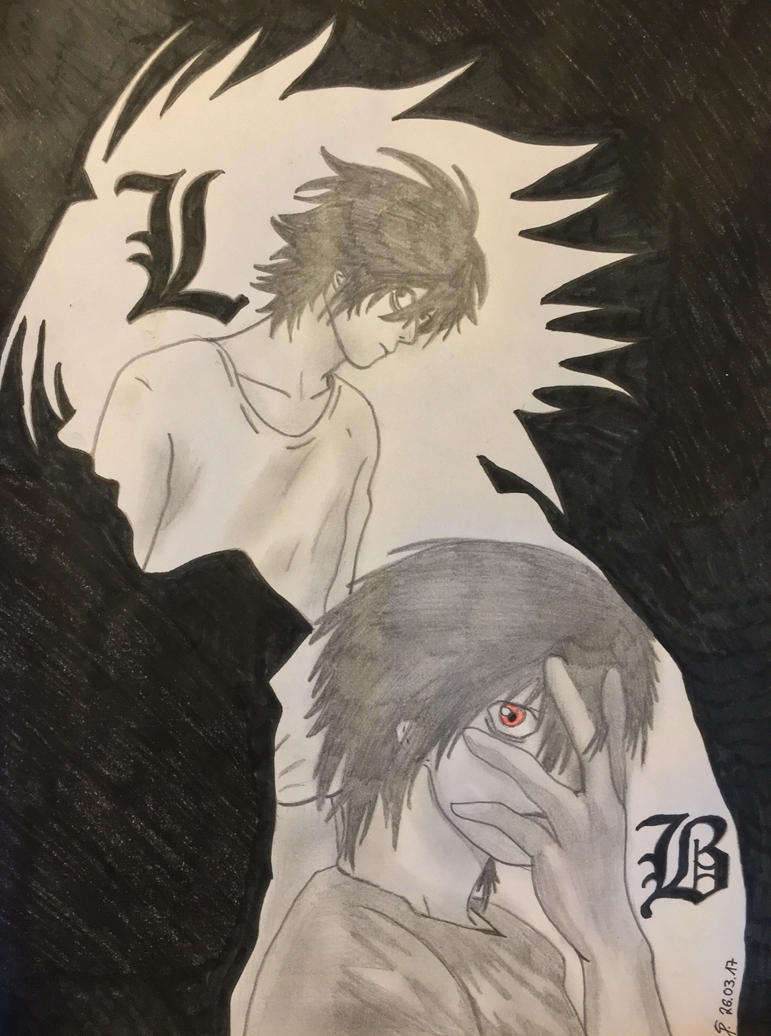 Beyond und L (Death Note) by Lauria88