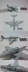 Me-262 Papercraft by The-Robur