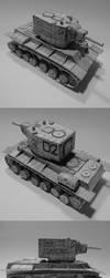KV-2 (Soviet Heavy Tank) by atisuto17