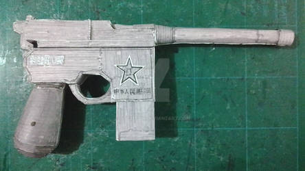 Fallout 3 - Chinese Pistol by atisuto17