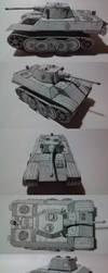 VK 1602 Leopard (German Light Tank Prototype) by atisuto17