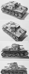 Panzer I Ausf A (German Light Tank) by atisuto17