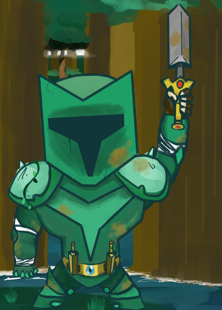 Gardening Knight by BeyondBirthday777