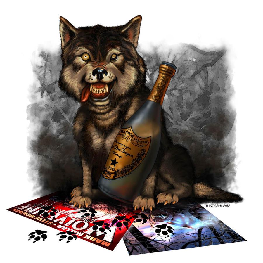 Wolf by Ostrykomiks