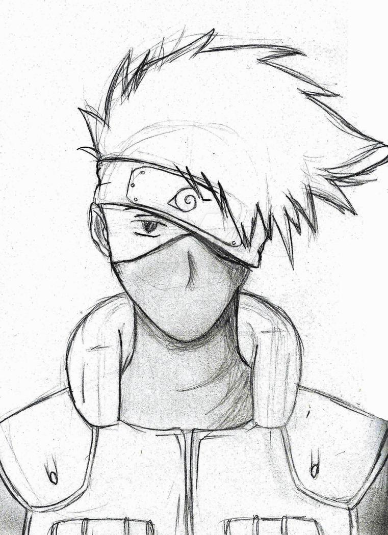 kakashi sketches - 761×1050