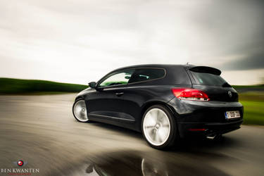 VW Scirocco on the move by bekwa