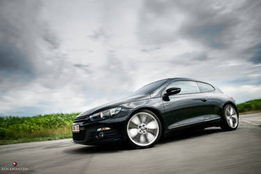 VW Scirocco on the move 3 by bekwa