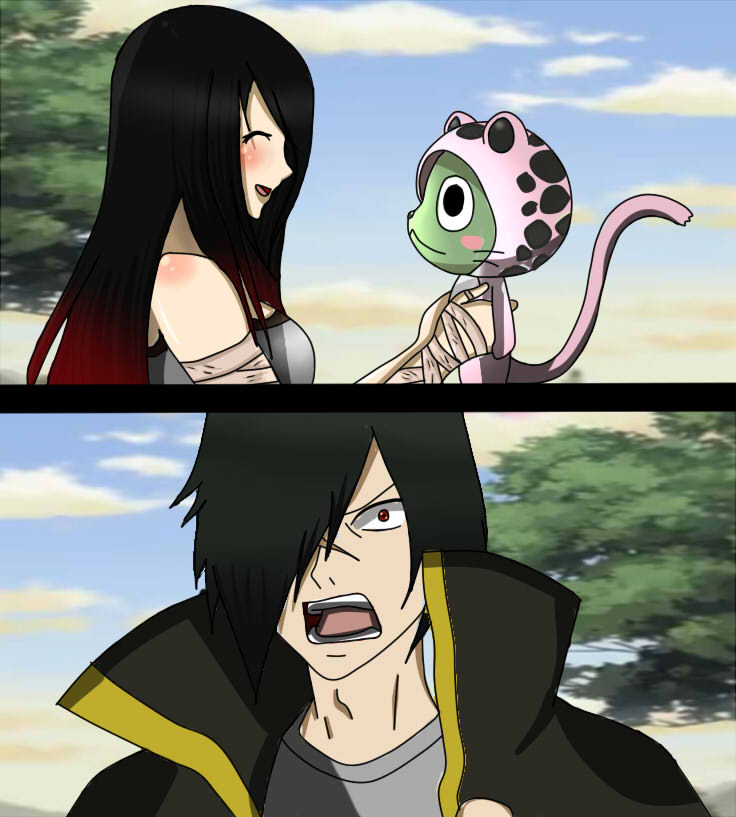 You're So Cute Frosch~ (rogue X Mohino) By MohinoFurrishi