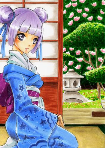Commission - Yorokobi89 by SanoWasHere