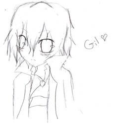 Chibi Gil by MsMikaSnow