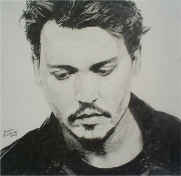 Johnny Depp by larilalui
