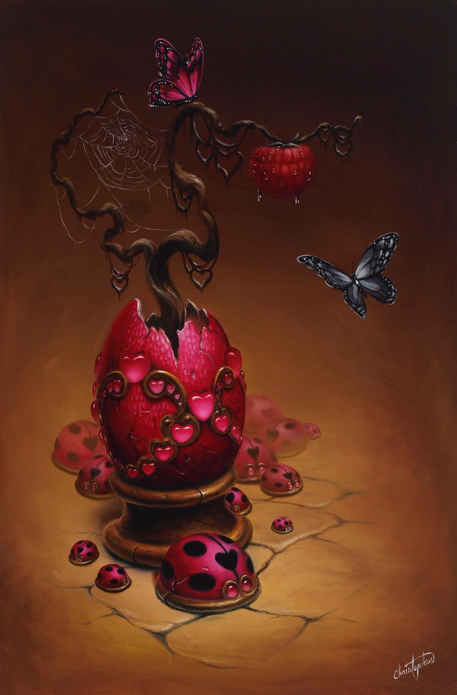 Raspberry Egg by ChristopherPollari