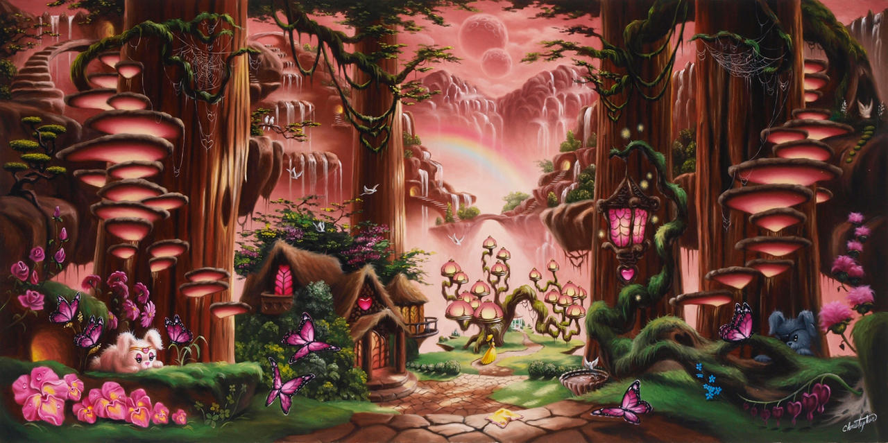 Rainbow Cottage by ChristopherPollari