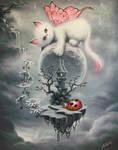 Kitten of the Universe by ChristopherPollari