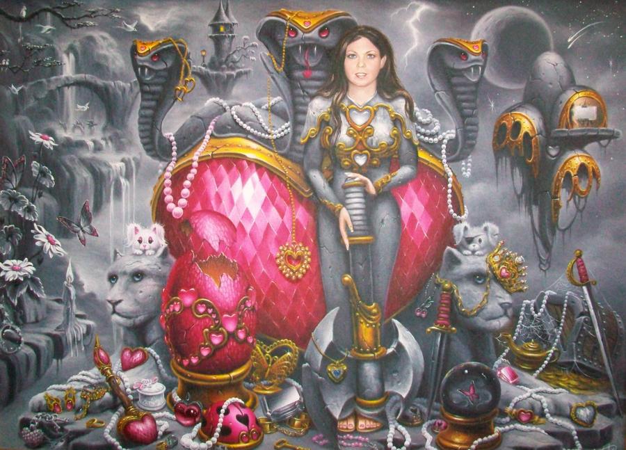 Warriors Treasure by ChristopherPollari