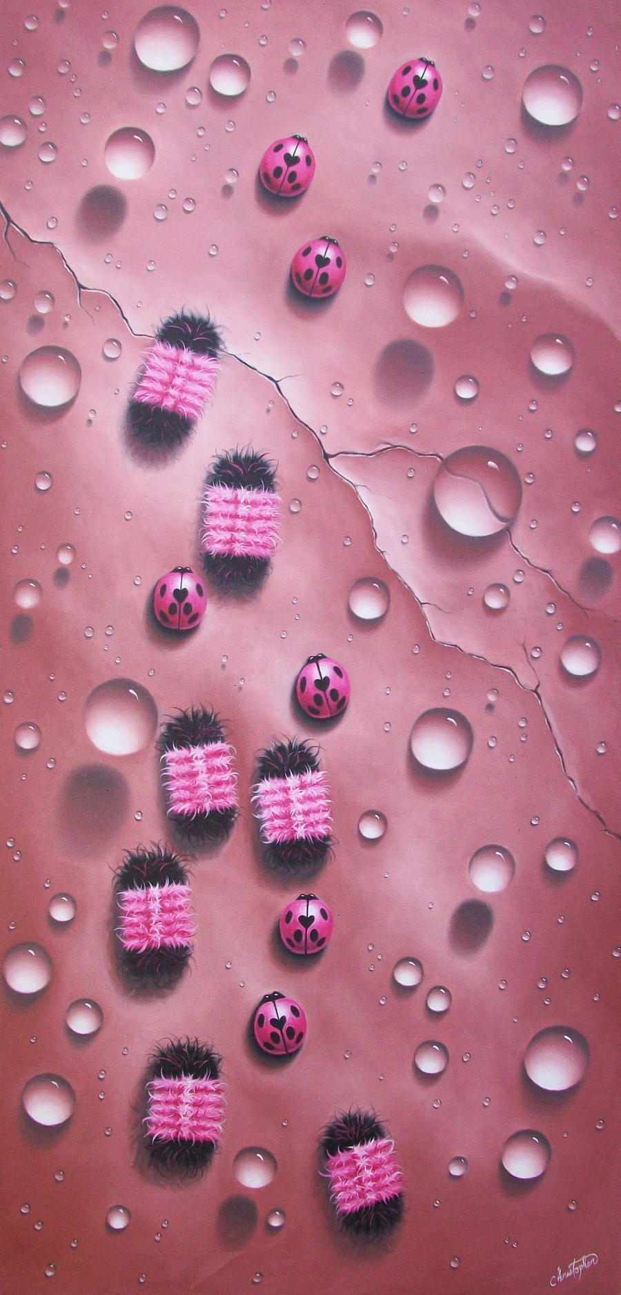 Pink Critters by ChristopherPollari