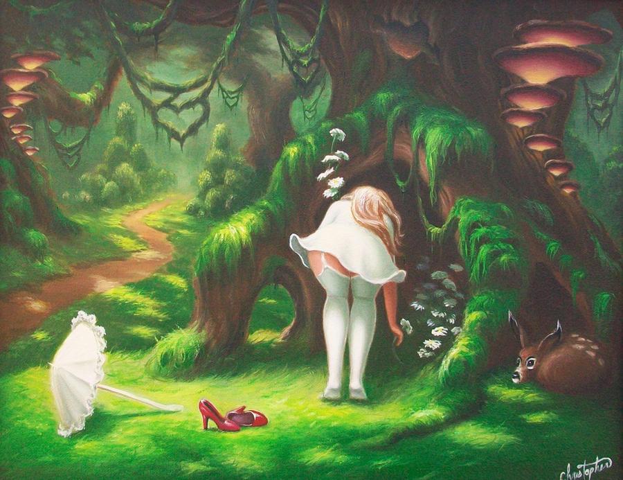 Picking Daisies by ChristopherPollari