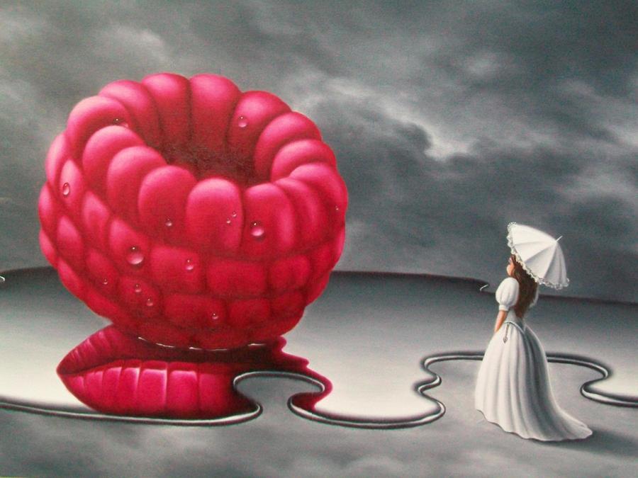 Raspberry Dream  ( detail ) by ChristopherPollari