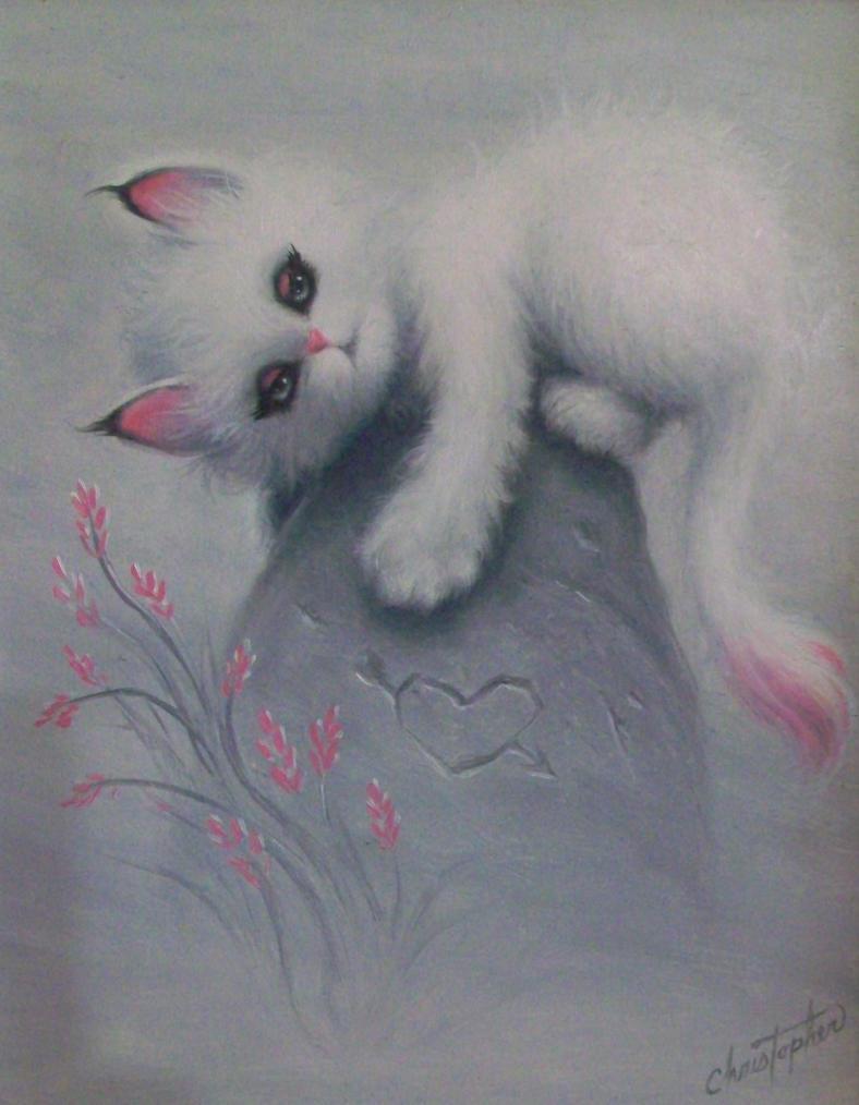 Pink Baby Bobcat by ChristopherPollari