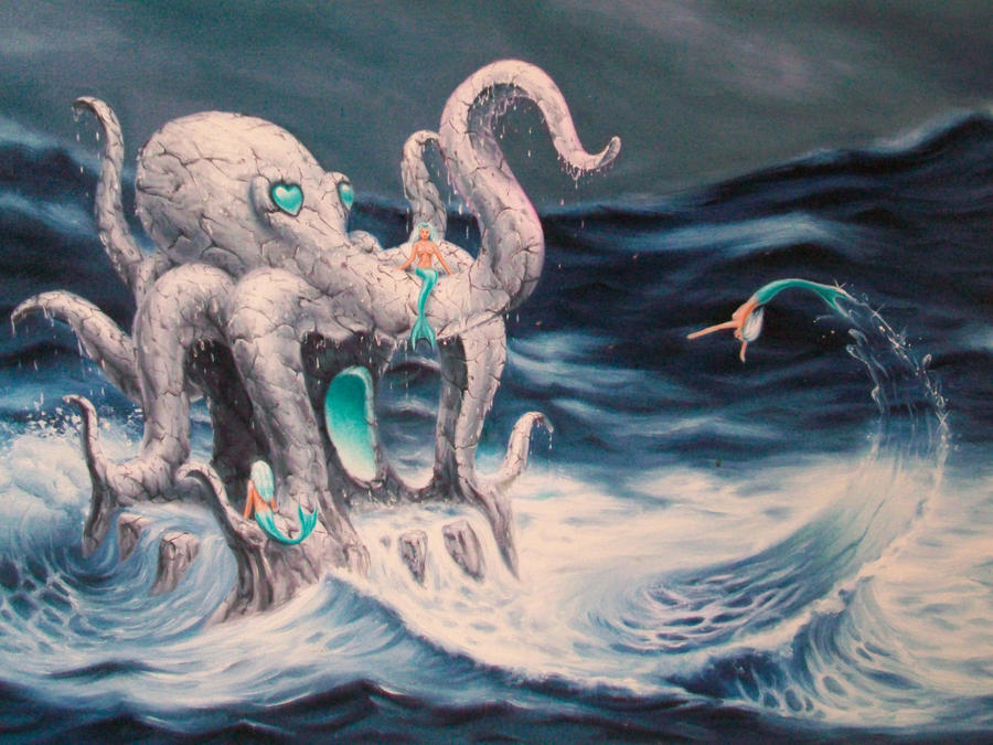 Mermaids Playday : detail by ChristopherPollari