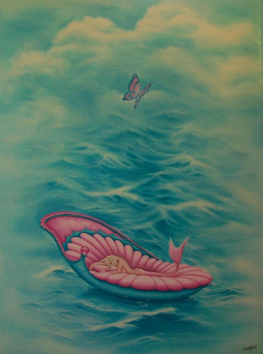 Mermaid Daydreaming by ChristopherPollari