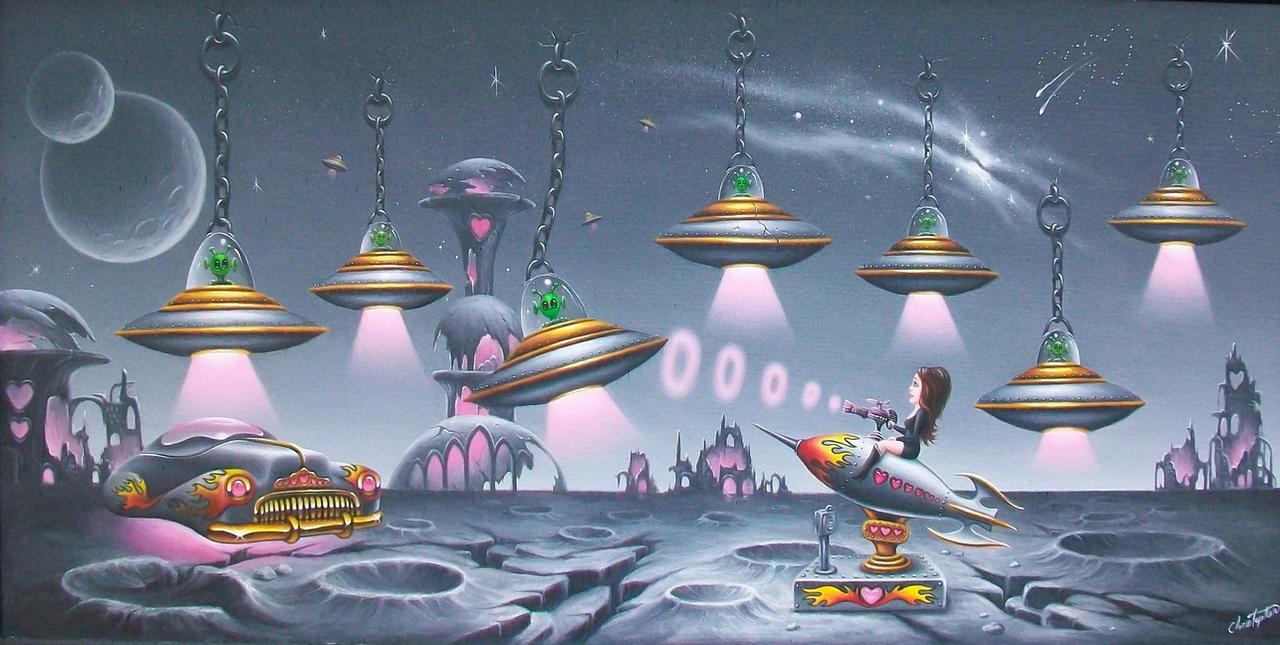 Johann Versus The Aliens by ChristopherPollari