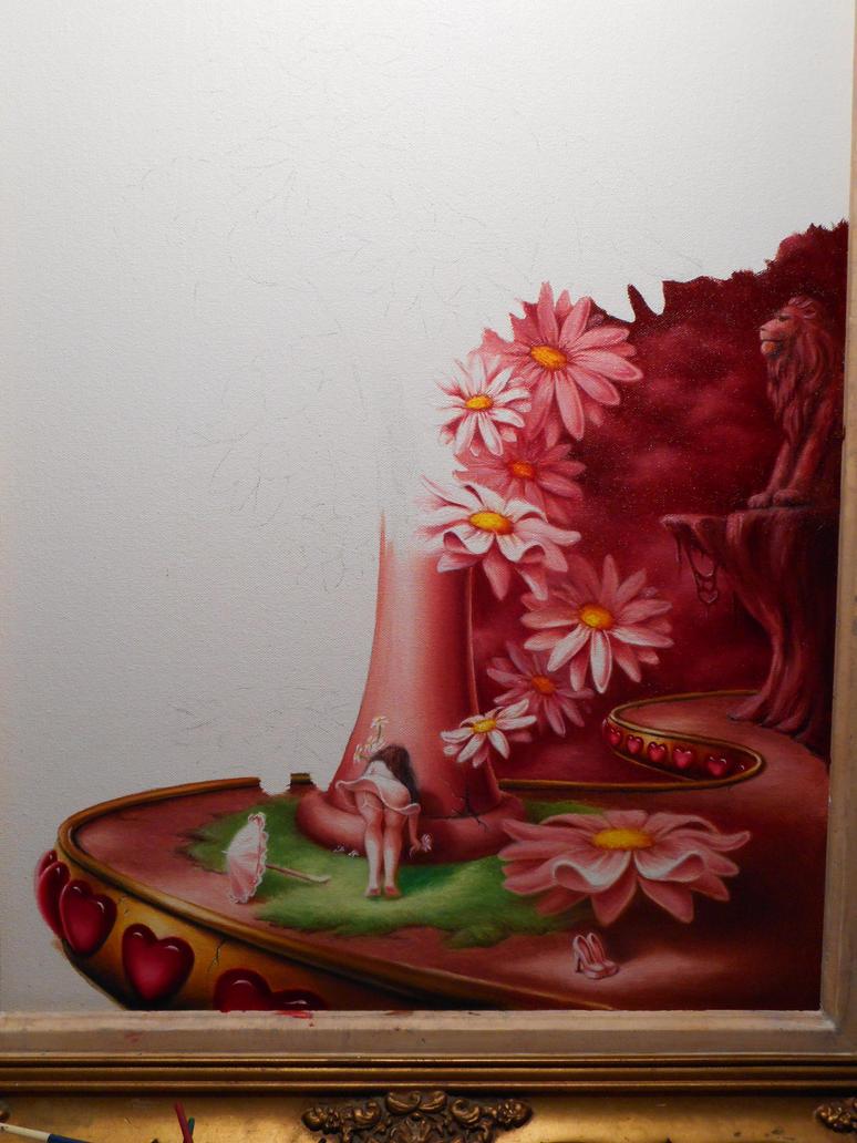 Work in progress..oil on canvas. by ChristopherPollari