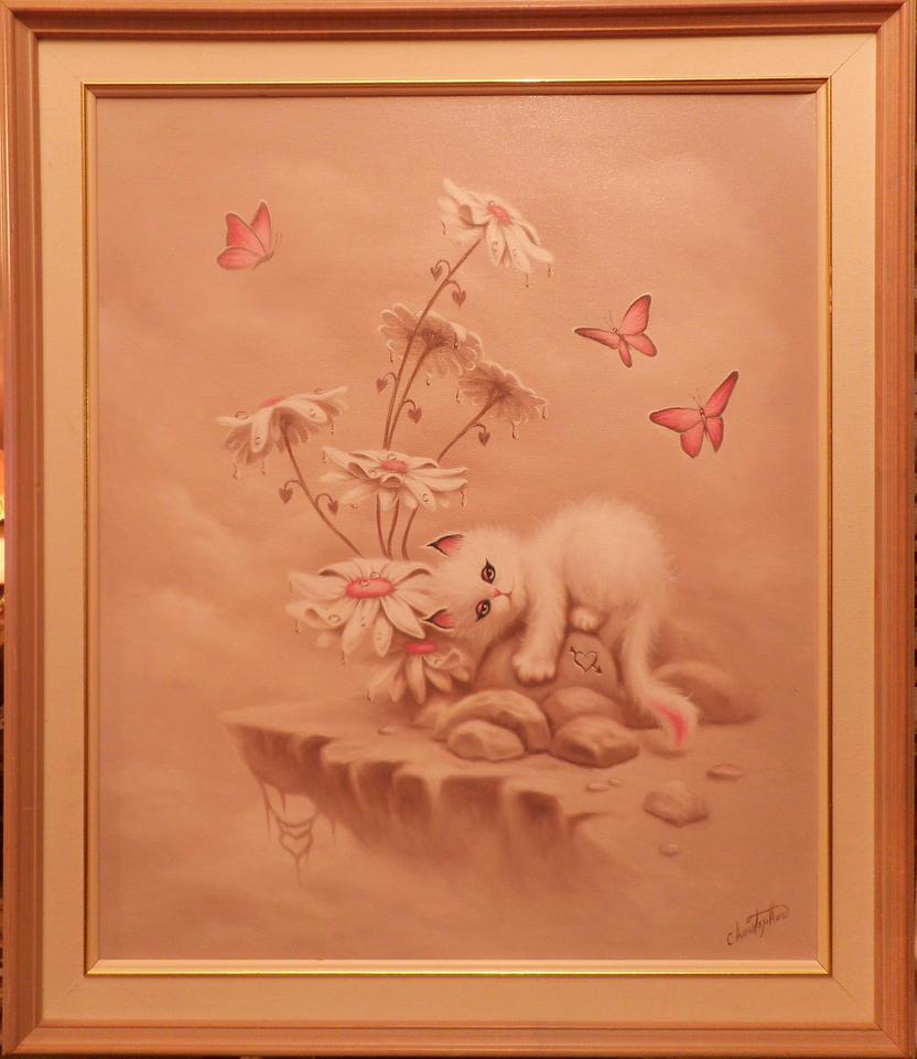 White Kitten. by ChristopherPollari