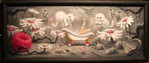 Bathtub Girl. Fundraiser for Breast Cancer. by ChristopherPollari