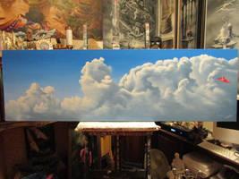 Cloud painting. by ChristopherPollari