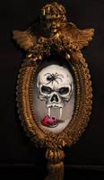 Skull and ladybug by ChristopherPollari