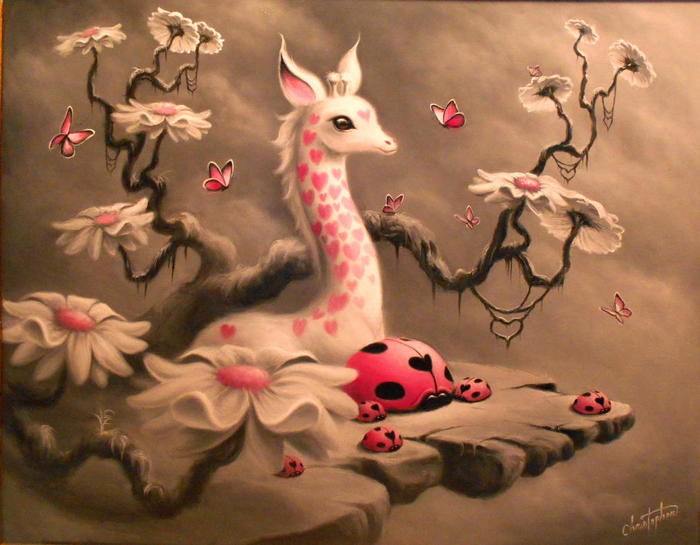 White Giraffe. by ChristopherPollari