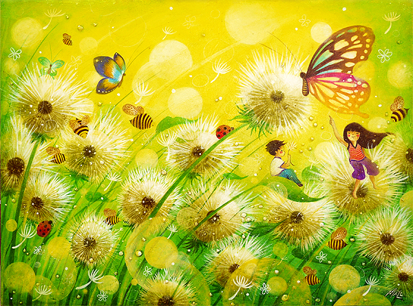 """The Dandelion Dream"" - May Anne Licudine."