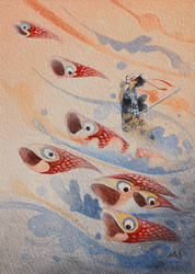 The Winds of Koinbori by frecklefaced29