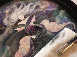WIP art resin