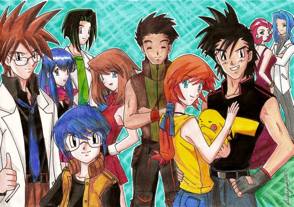 Pokemon Years Later - Coloured by MajinLu