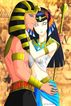 The Pharaoh and His Queen