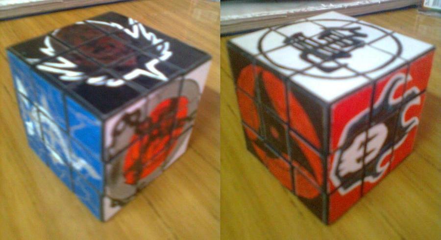 RubikCube04 by mortieru