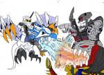 Ice Dragon vs Kardas