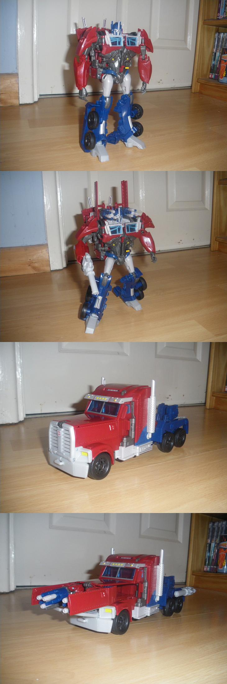 TFP Weaponizer - Optimus Prime by KrytenMarkGen-0