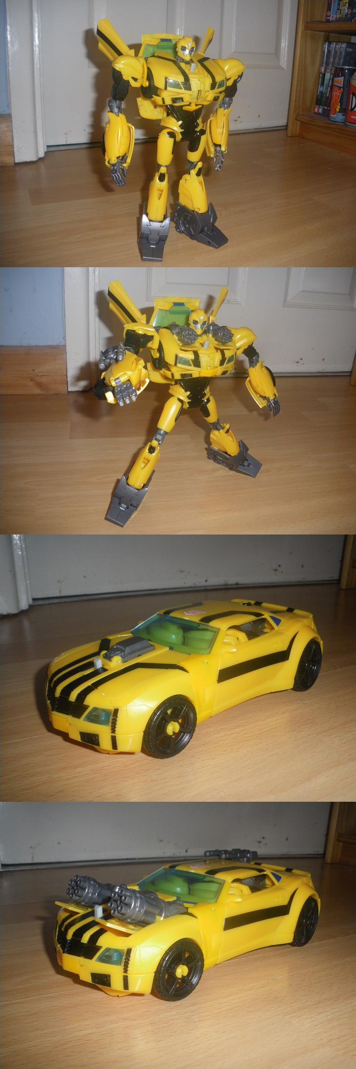TFP Weaponizer - Bumblebee by KrytenMarkGen-0