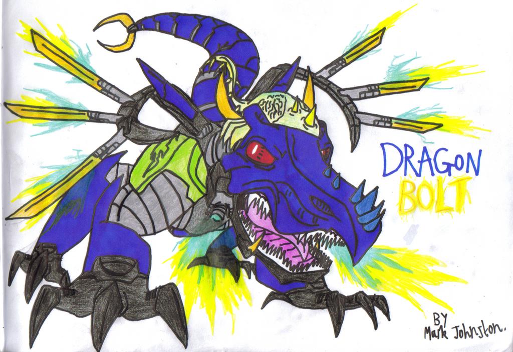 Brain Attack - Dragon Bolt (Fan Art) by KrytenMarkGen-0 on DeviantArt