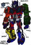Transformers: Burning Fury - Optimal Prime